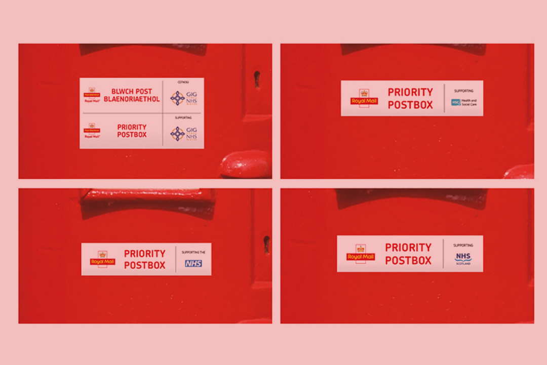 Covid 19 Flight Test - Priority Post Boxes